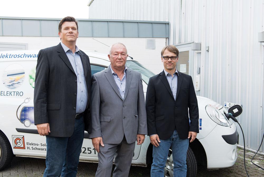 Geschäftsleitung Elektro-Solrtechnik H. Schwarzer GmbH